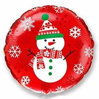 Karácsonyi fólia lufik